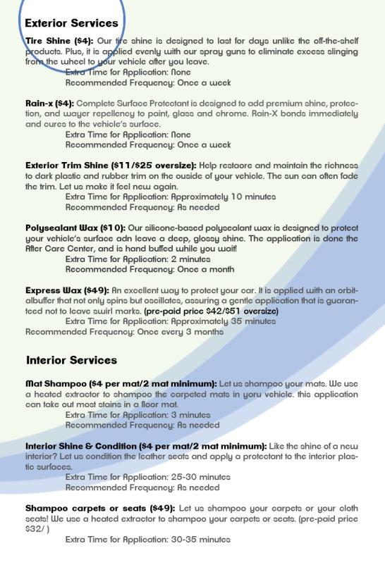 extra services menu 800 x 1200